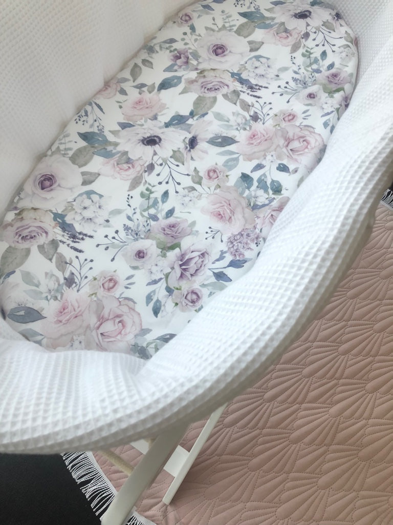Moses Basket Fitted Sheets