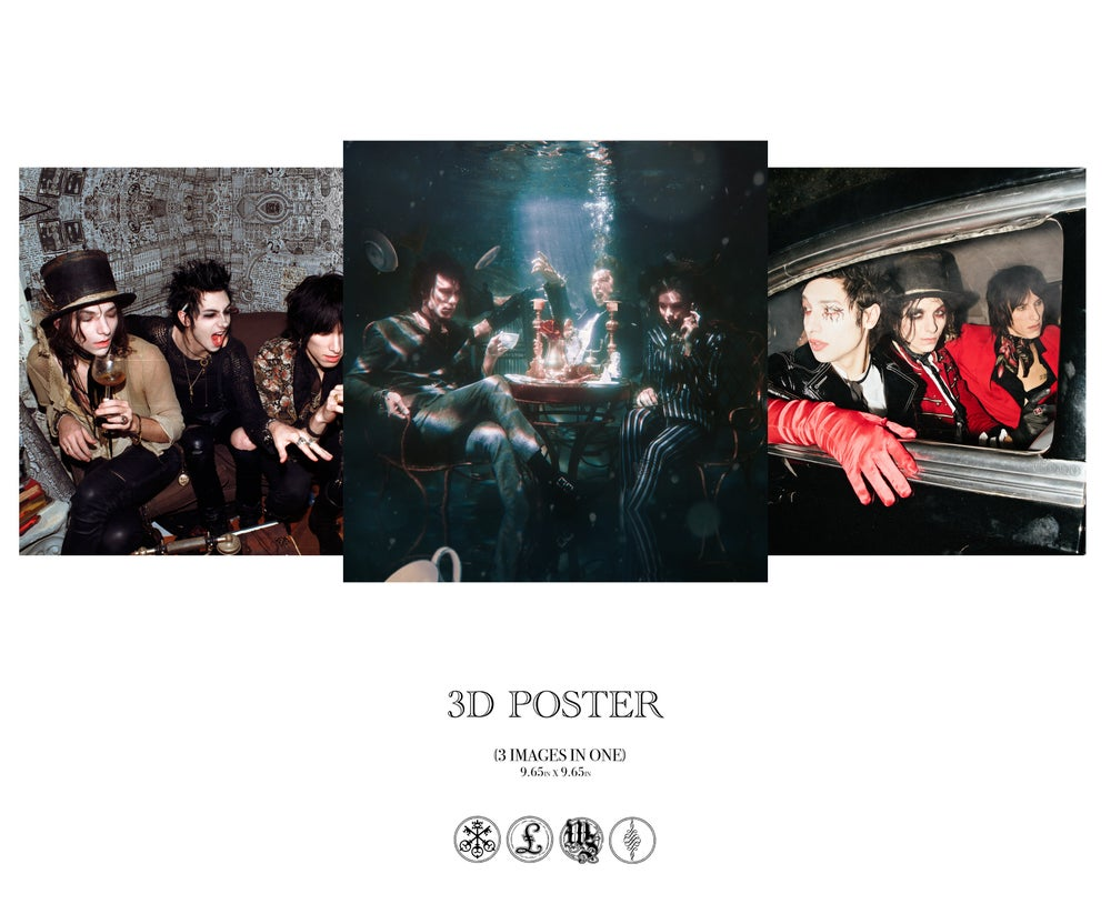 Discography 3D poster
