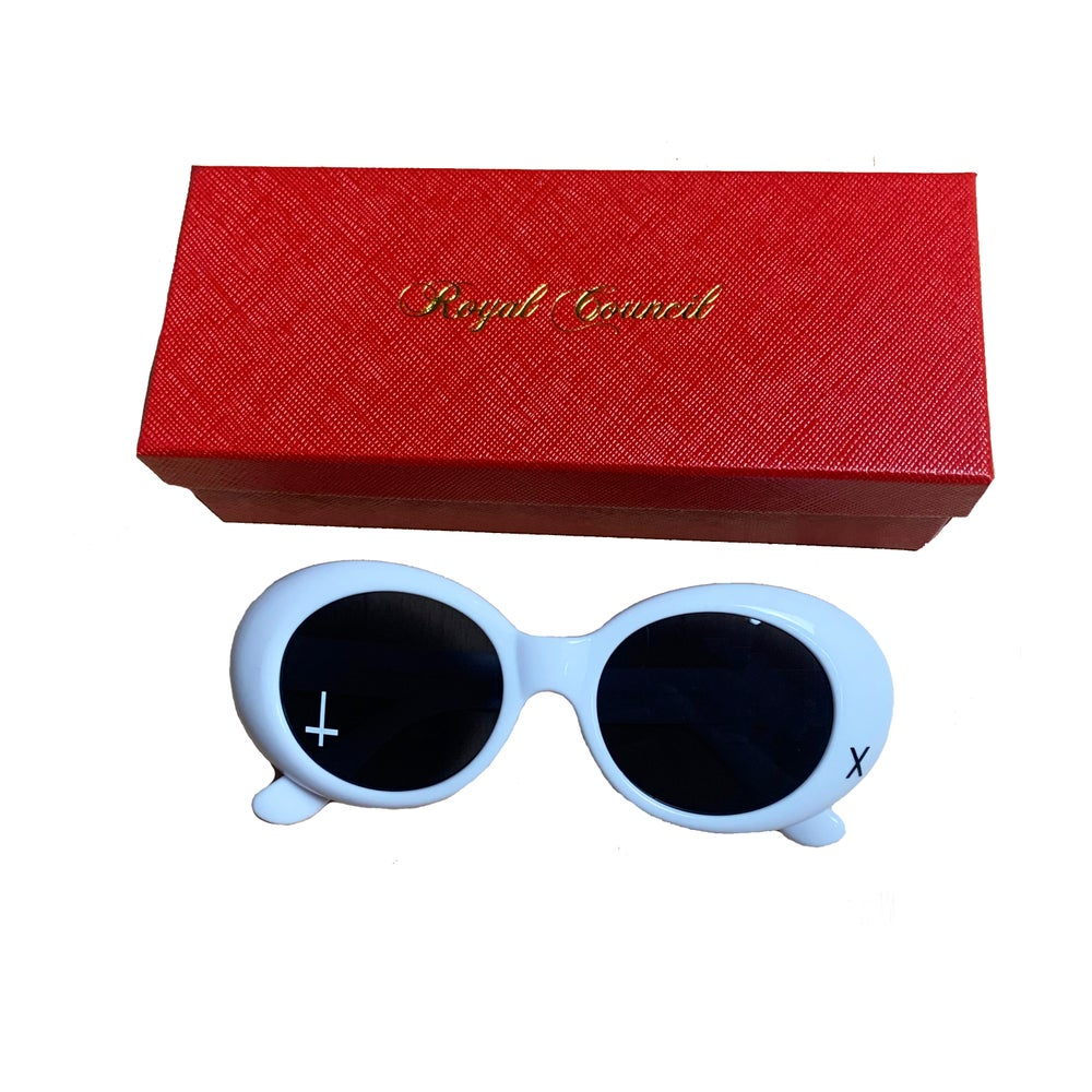 Council Sunglasses - White