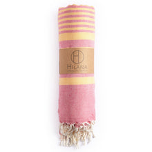 Load image into Gallery viewer, Fethiye Blanket Throw - Pink