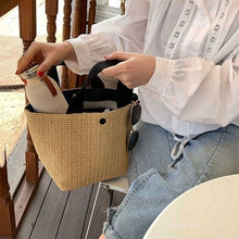 Load image into Gallery viewer, Casual Rattan Women Handbags Summer