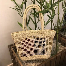Load image into Gallery viewer, Rattan Straw Woven Wicker Basket