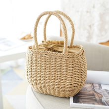 Load image into Gallery viewer, Straw Bags Summer Hand-Woven Rattan