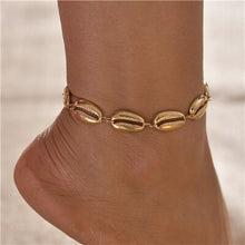 Load image into Gallery viewer, Bohemian Shell Anklets