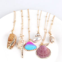 Load image into Gallery viewer, Boho Conch Shell Necklace