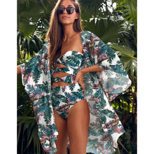 Load image into Gallery viewer, Wrap Skirt Swimsuit High Waist 2021