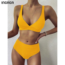 Load image into Gallery viewer, High Waist Swimsuits
