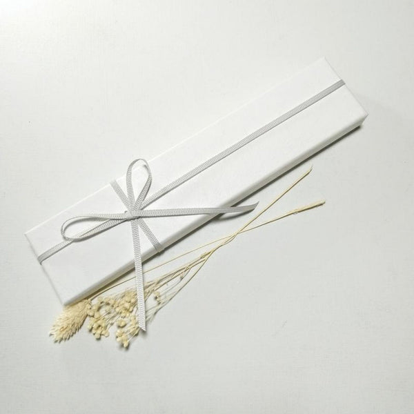 Glass Hanging Decoration - White (various)