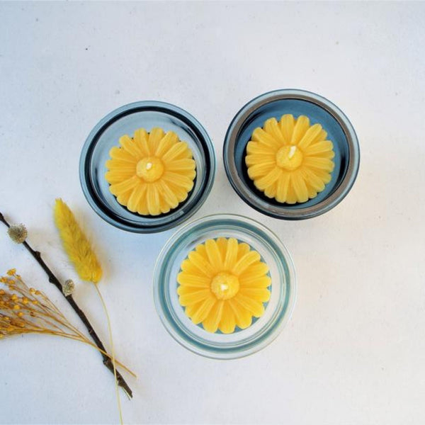 Sunflower Candle Gift Set