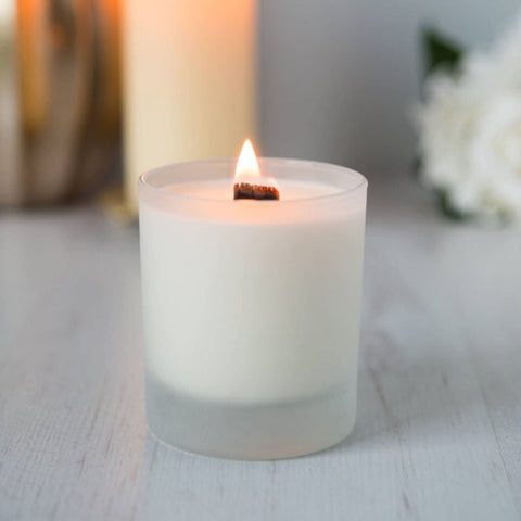 Wood Wick Aromatherapy Candle - Grapefruit & Lemongrass