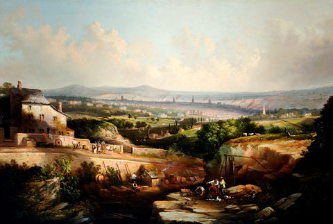 A View of Sheffield from Psalter Lane
