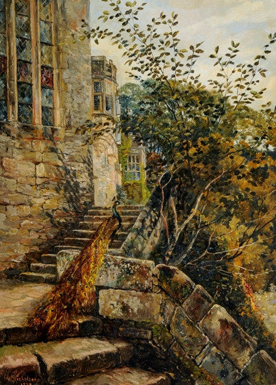 Old Chapel Steps, Haddon Hall