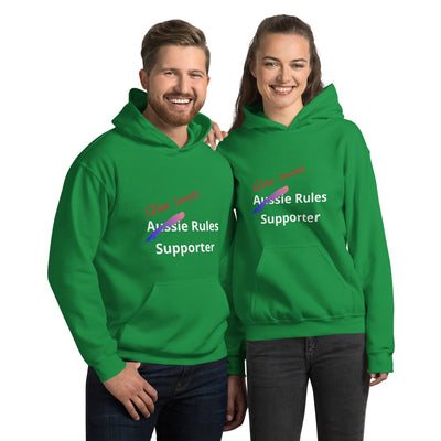 Glen Innes Celts Aussie Rules AFL Supporters Hoodie Unisex Green