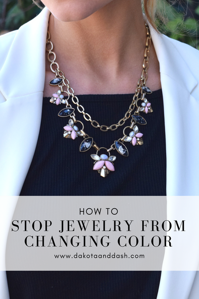 How to Stop Jewelry from Changing Color