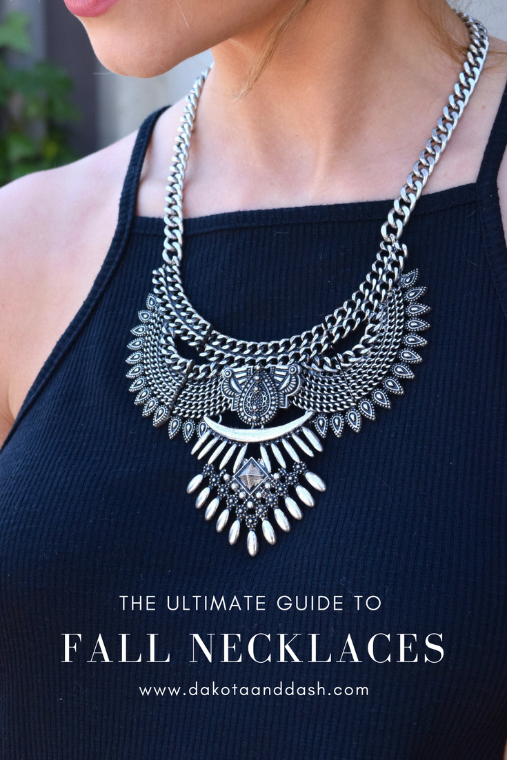 10 Fall Necklaces We Can't Get Enough Of