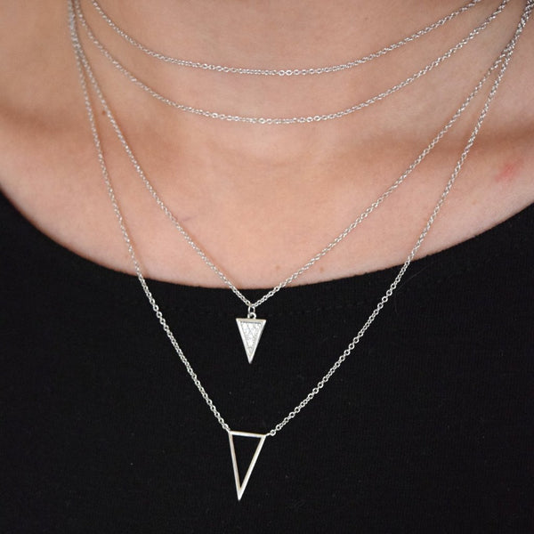 I Got You Necklace - Silver