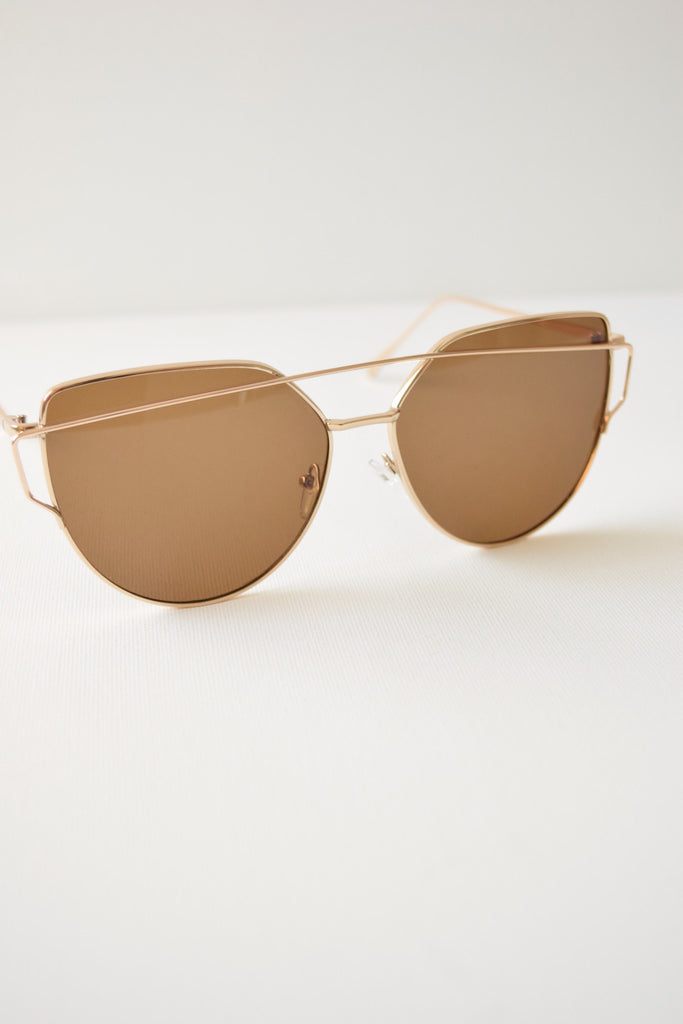 Maddox Sunnies - Gold Dusk