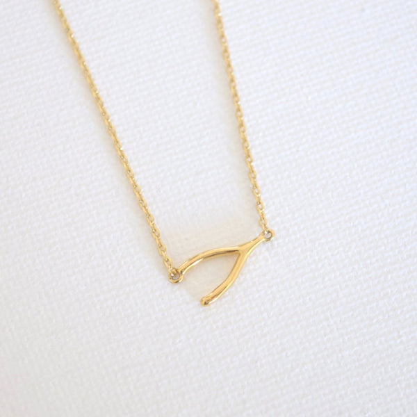 Wish Necklace - Gold