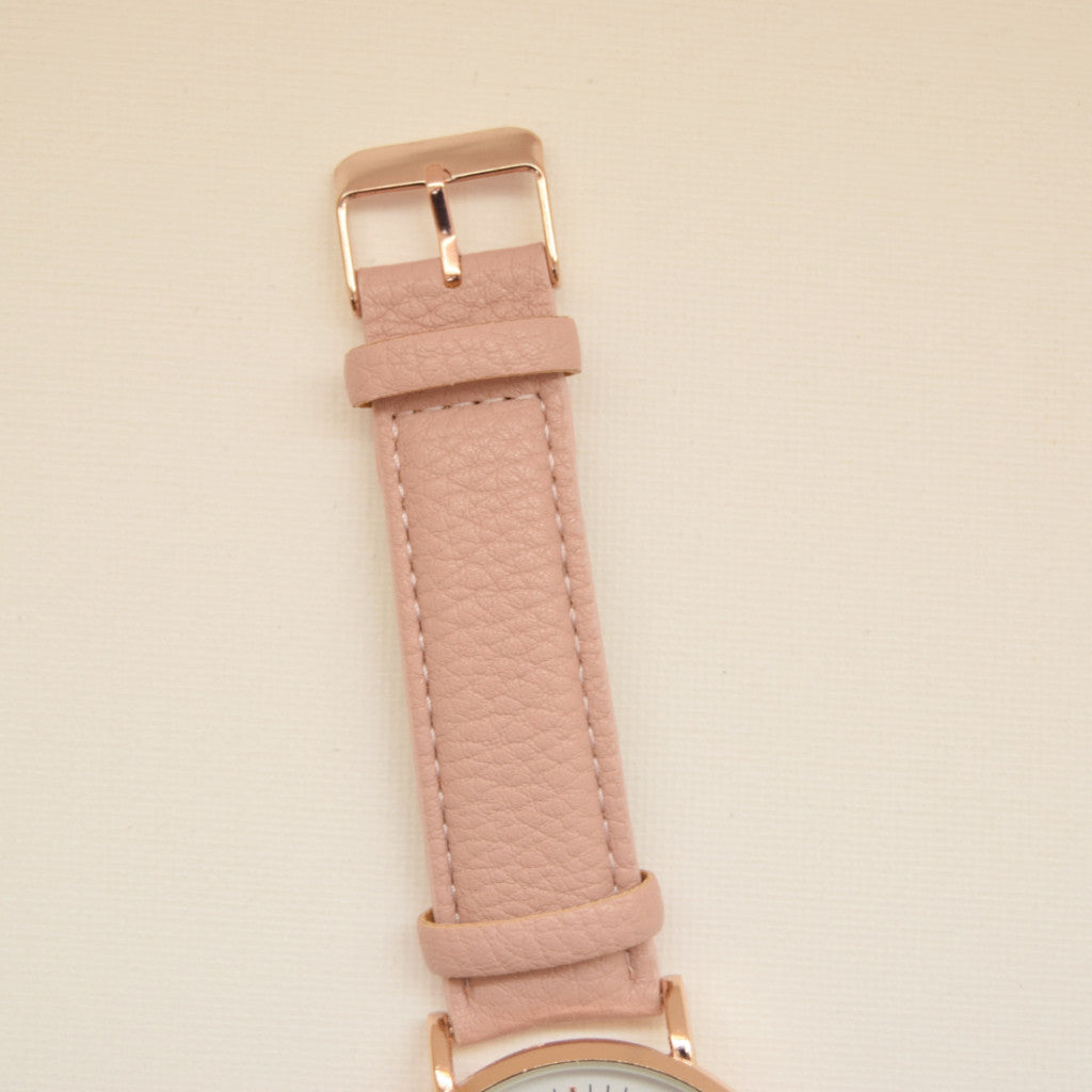 Madison Watch - Blush - Watch - Dakota + Dash Fashion Jewelry & Accessories
