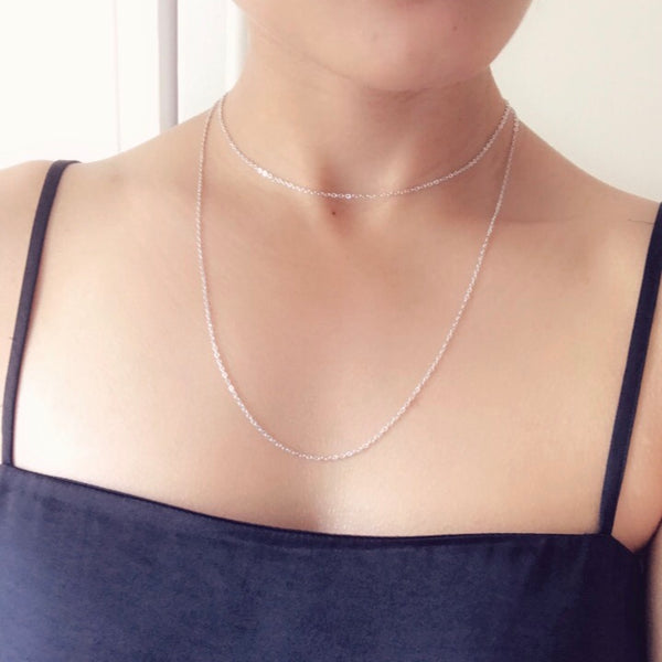 The Eleri Choker - Silver