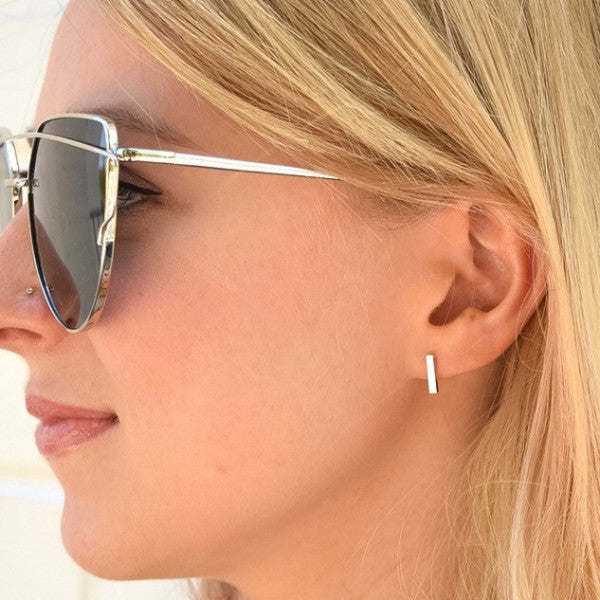 Let's Talk Studs - Rose Gold - Earring - Dakota + Dash Fashion Jewelry & Accessories