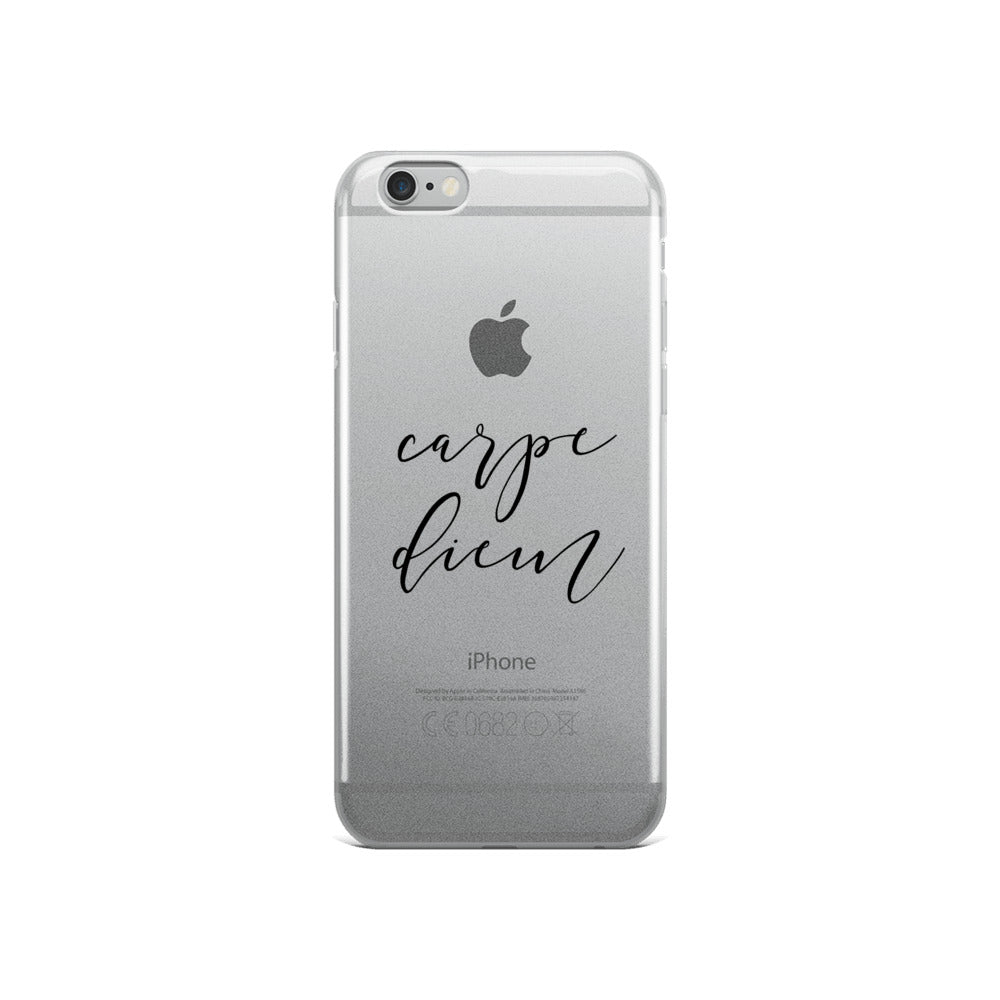 Carpe Diem iPhone 5/5s/Se, 6/6s, 6/6s Plus Case