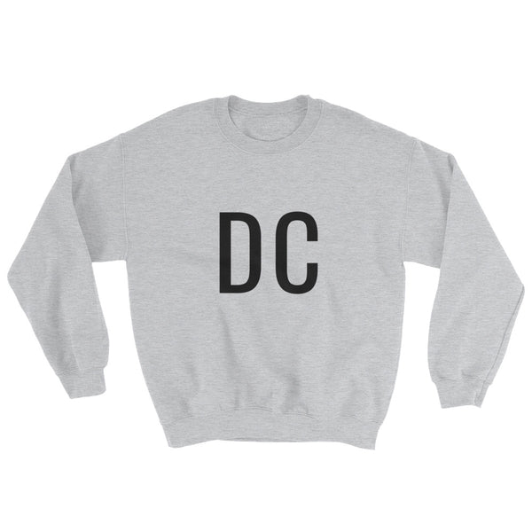 DC Washington, DC Sweatshirt - Grey