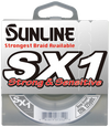 Sunline SX1 Braided Fishing Line 12 lb 125 yds spool