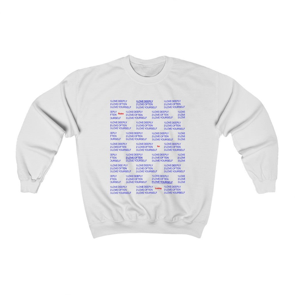Rules for Loving (Crewneck)