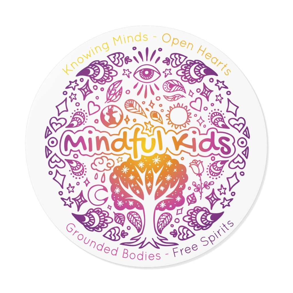 Mindful Kids Mandala (Sticker)