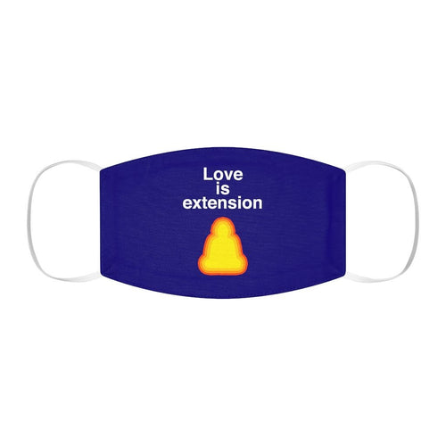 Love is Extension (Face Mask) Printify