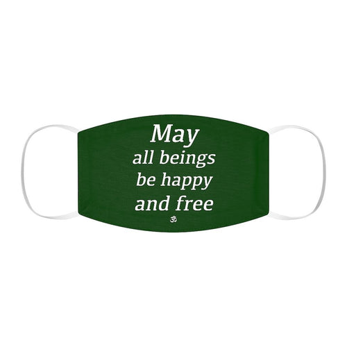 May All Beings Be Free (Face Mask) Printify