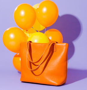 Penelope Tote - Orange