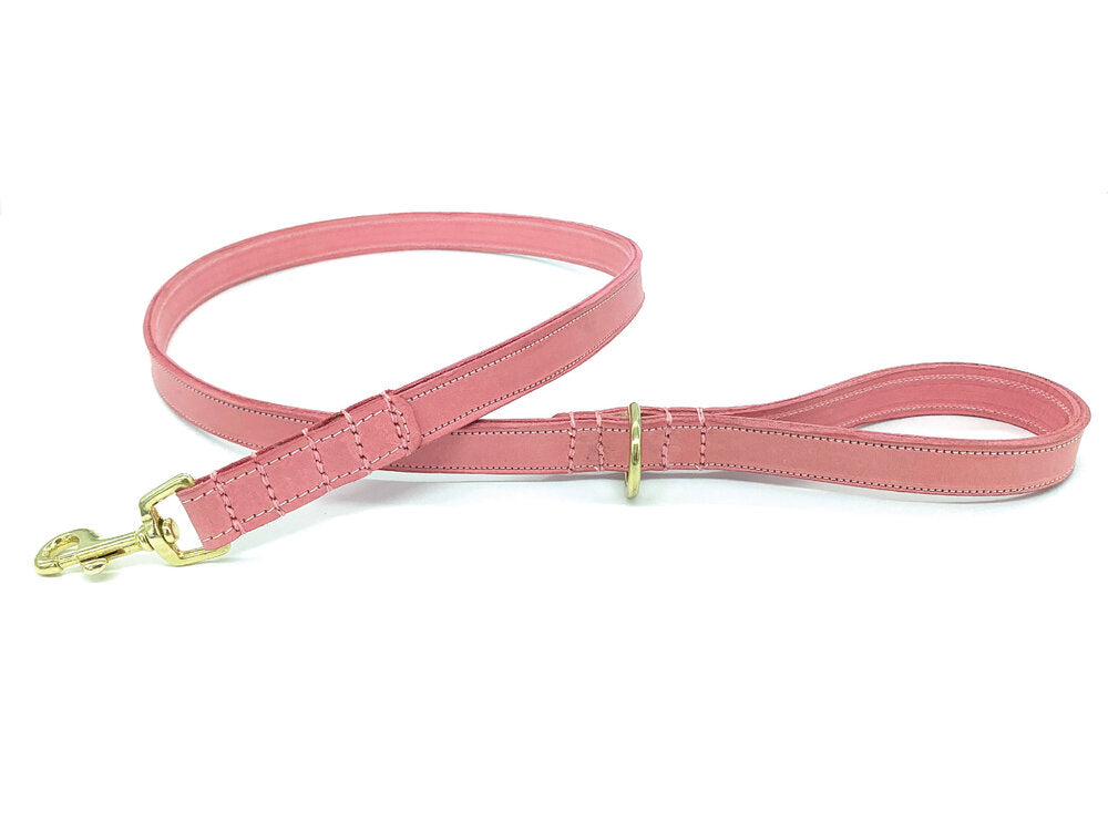 Personalised Dog Collar and Lead Set - Pink