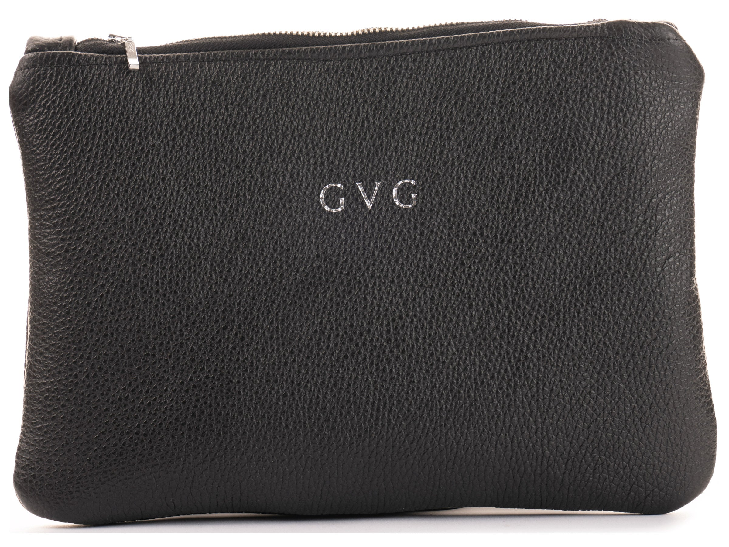 Grace Clutch Bag - Black/ Bright Blue
