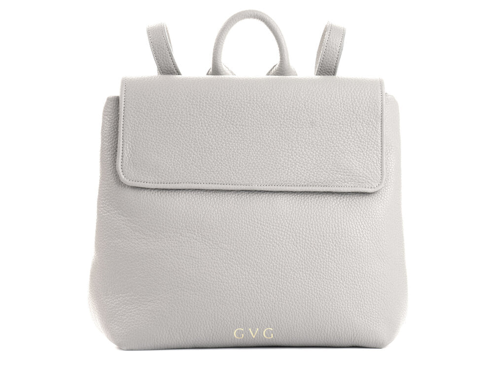Olivia Backpack - Grey/ Pink