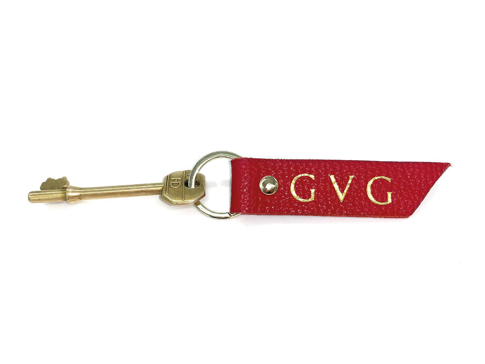 Alice Key Ring - Red