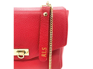 Mia Shoulder Bag - Red