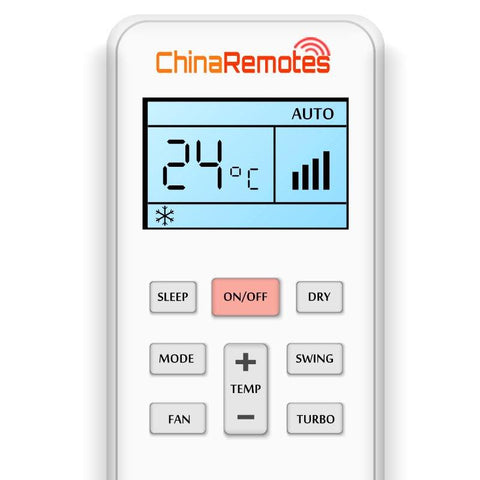 A/C Remote for lilytech ✅