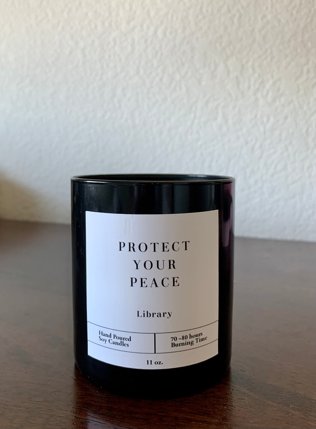 """Library"" Scented Soy Candle"