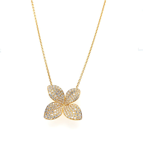LILY DIAMOND NECKLACE