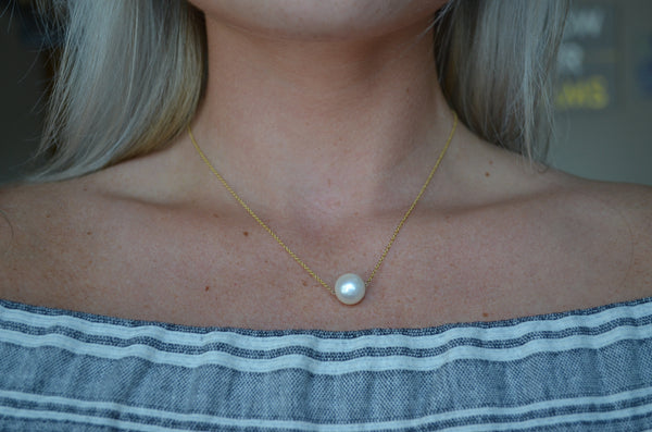 Pearl on a String Choker