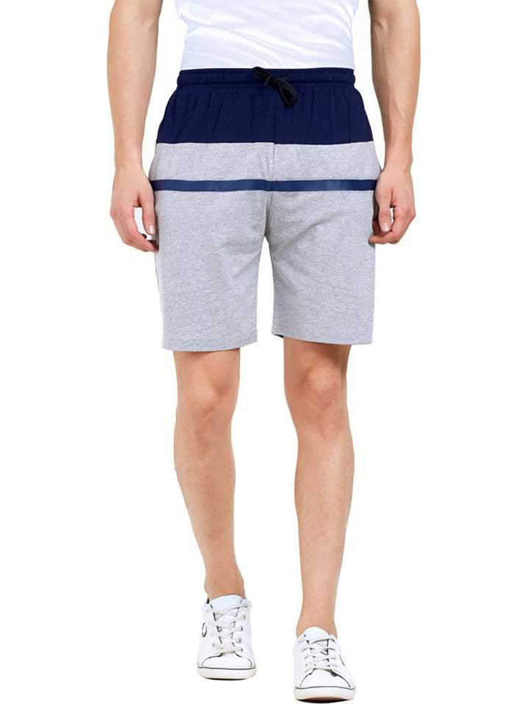 MANIAC Striped Men Multicolor Regular Shorts ()