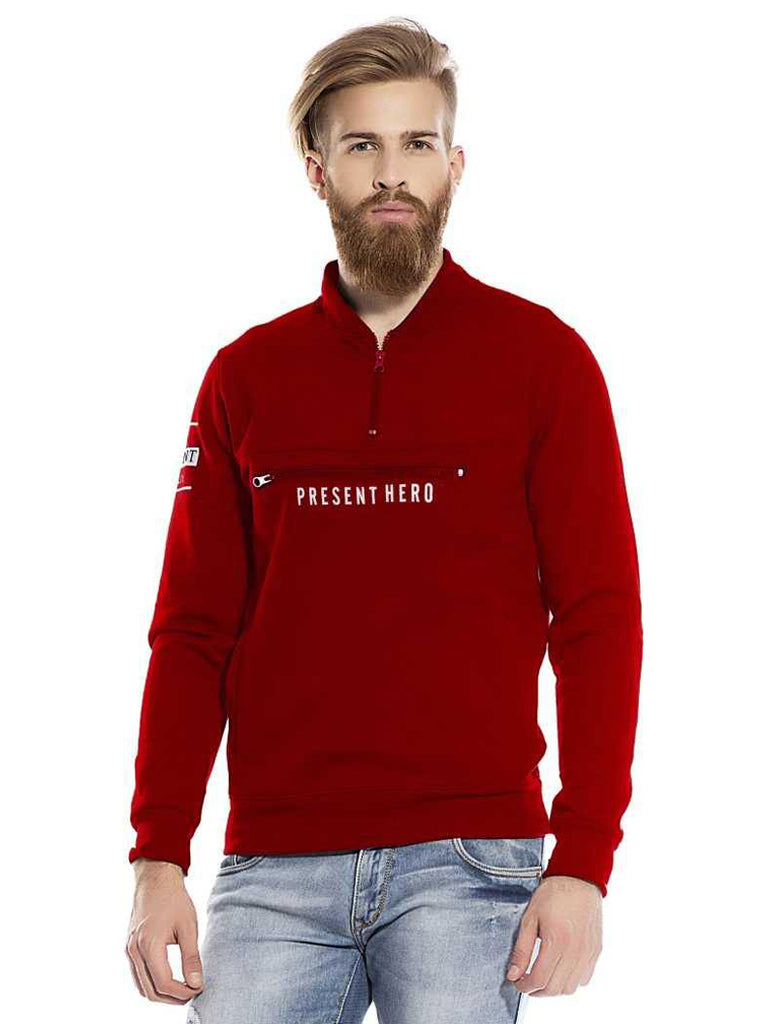 MANIAC Full Sleeve Graphic Print Men Sweatshirt - ManiacLife.com