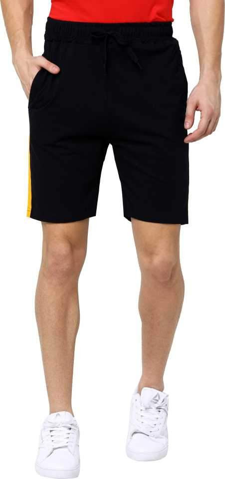 MANIAC Striped Men Multicolor Sports Shorts ()