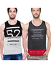 MANIAC Men Vest (Pack of 2)