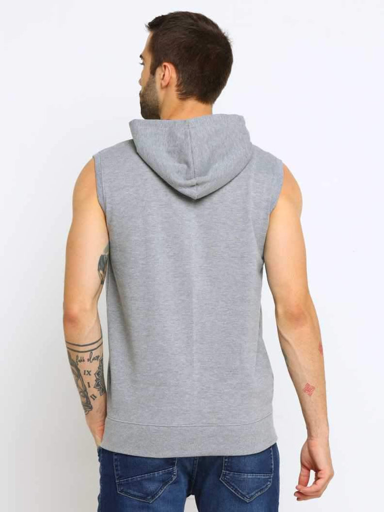 MANIAC Sleeveless Solid Men Sweatshirt - ManiacLife.com