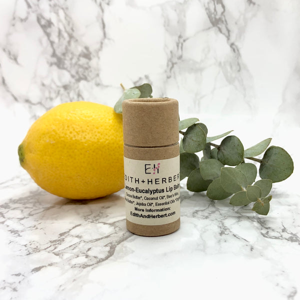 Lemon + Eucalyptus Lip Balm