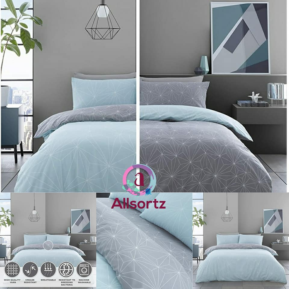 Rex Duvet Cover Set available in 4 colours