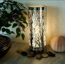 Load image into Gallery viewer, Colour Changing LED Aroma Wax Melt Burner Light Tree Silhouette Lamp, Diffuser Wax Warmer